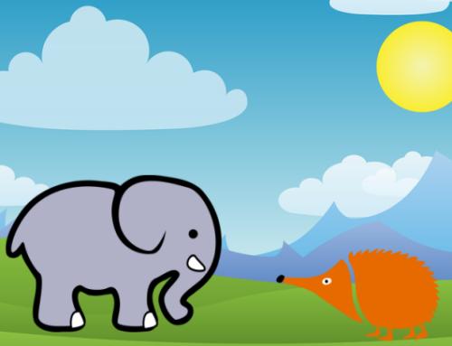 Elefante con sensores