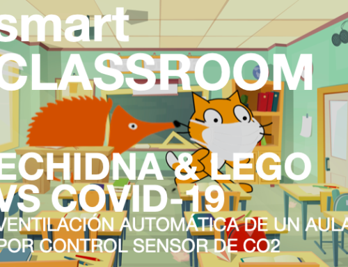 SmartCLASSROOM, ECHIDNA VS COVID-19.  EL CONTEXTO IMPORTA.